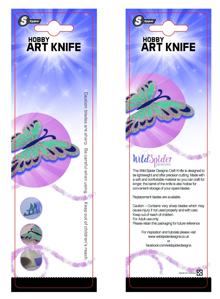 Wild Spider Knife Packaging